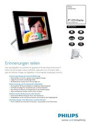 8FF3CDW/00 Philips PhotoFrame - Snogard
