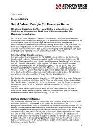 25.03.2013: Seit 4 Jahren Energie für Meeraner Babys - Stadtwerke ...