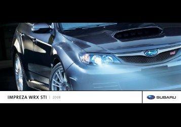 IMPREZA WRX STI 2008 - Subaru Impreza