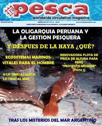 Revista Pesca Marzo 2014