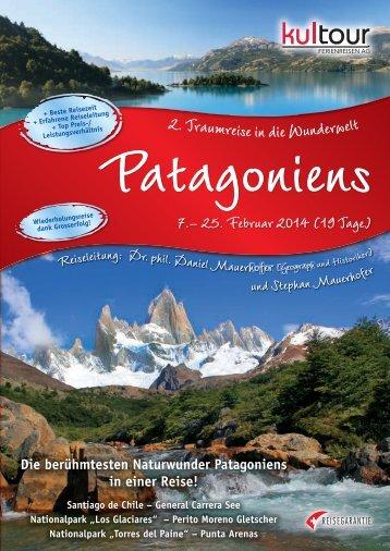 PDF Patagonien - KulTOUR Ferienreisen