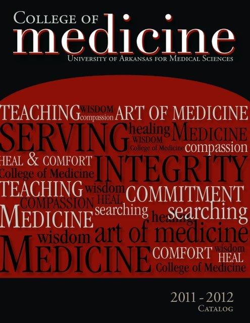 college of medicine - University of Arkansas for Medical