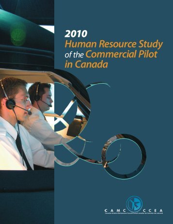 Human Resource Study of the Commercial Pilot in Canada