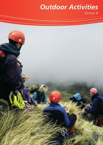 Outdoor Activities for Leaders - Section B - Sport New Zealand