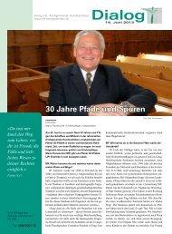 Dialog-06-2013 - Reformierte Kirchgemeinde Hombrechtikon