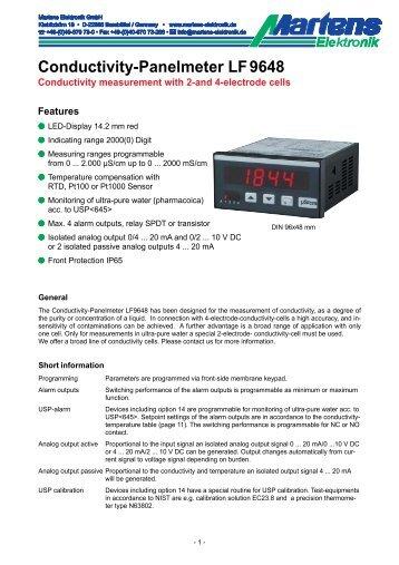 LF9648-V1_30-03- Prospekt - Martens Elektronik GmbH
