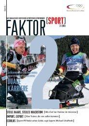 Ausgabe 3/2013 - Der Deutsche Olympische Sportbund