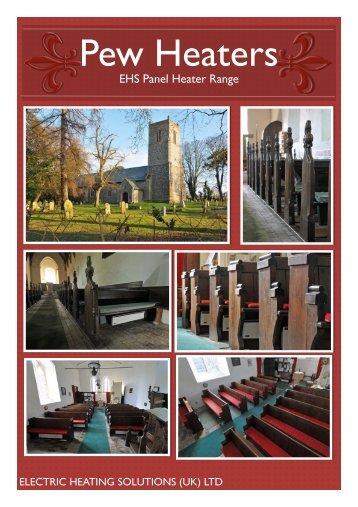 Norel Pew Heater Brochure - Electric Heating Solutions