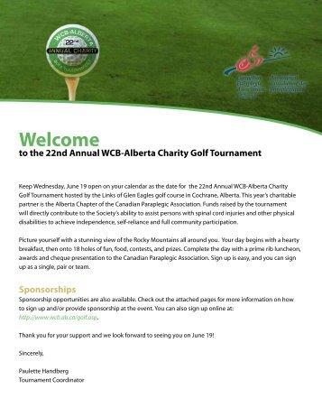 Charity Golf Tournament 2013 Sponsorship Opportunities