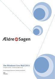 Om Windows Live Mail 2011 - Ældre Sagen