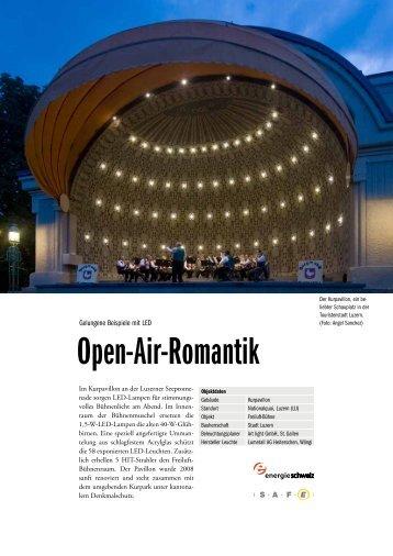 Gute Beispiele mit LED - Musikpavillon Luzern (LU) - SAFE