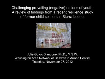 Challenging prevailing (negative) notions of youth: A review of ...