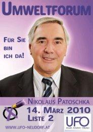 Zeitung März 2010 - Umweltforum Wiener Neudorf