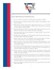 Invited Talks - Triangle Universities Nuclear Laboratory - Duke ...