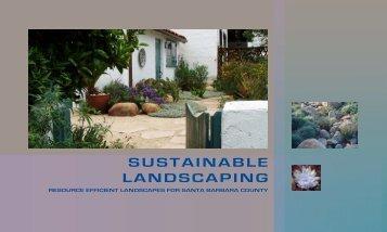 SUSTAINABLE LANDSCAPING - City of Santa Barbara