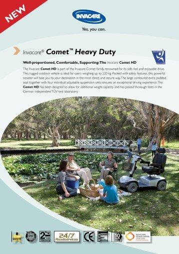 Invacare® Comet™ Heavy Duty - Invacare Australia