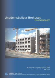 Hovedrapport (pdf, 2,1 MB) - It.civil.aau.dk - Aalborg Universitet