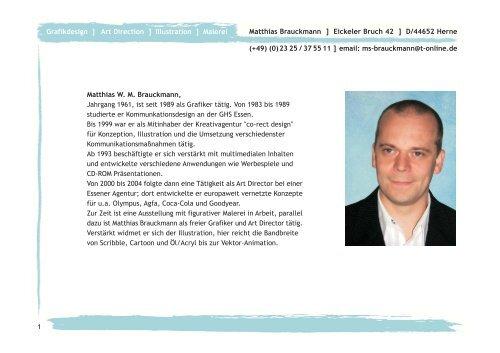 Matthias Brauckmann ] Eickeler Bruch 42 ] D/44652 Herne (+49) (0 ...