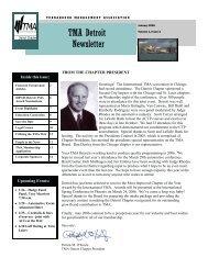 Jan 2006 TMA newsletter final - Turnaround Management Association
