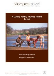 A Luxury Family Journey Idea to Kenya - Steppes Travel