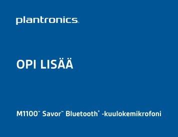 OPI LISÄÄ - Plantronics