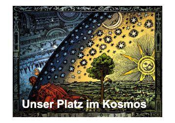Unser Platz im Kosmos Unser Platz im Kosmos