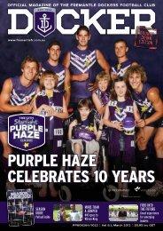 FD460a Docker - Member Magazine Issue 01, 2012 - Fremantle ...
