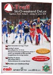 O-treff 2010 innbydelse - Asker Skiklubb