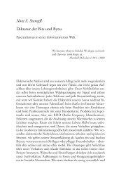 Nora S. Stampfl Diktatur der Bits und Bytes - Scheidewege