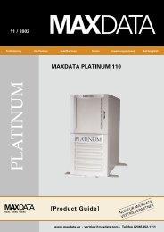 MAXDATA PLATINUM 110