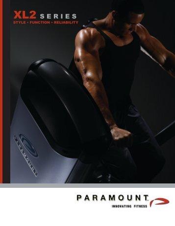 XL2 Catalog 8pg - Paramount Fitness