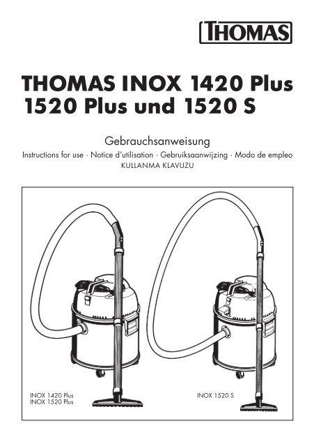 INOX 1545 S INOX 1530 THOMAS Schrägrohrdüse INOX 1520 PLUS