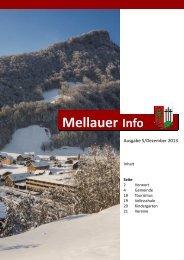 Mellauer Info - Aktuelles