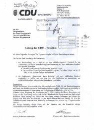 Stadt Bergneustadt a«. Ot April 2 Antrag der CDU - Fraktion