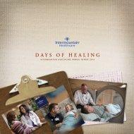 Annual Report to the Community 2010 - Intermountain Healthcare
