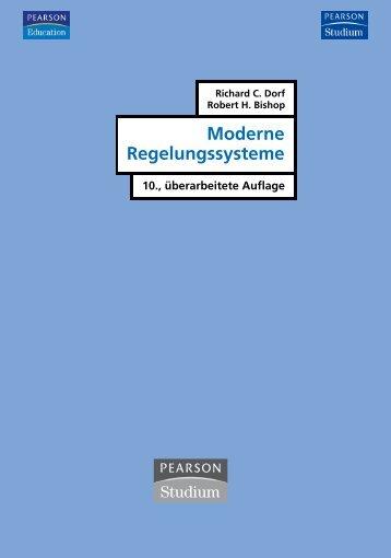 Moderne Regelungssysteme - 10., überarb. Aufl ... - Pearson Studium