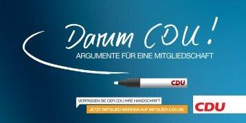 cdu – die richtige partei für unser land -  CDU Kreisverband Biberach