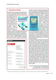 Herstellerinformation - ZWP online