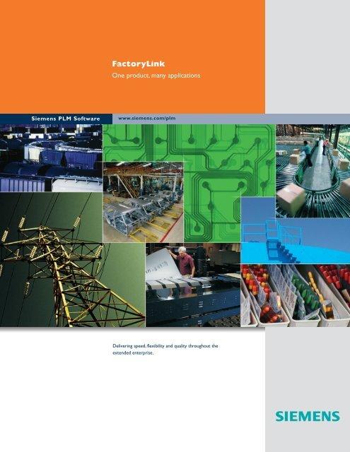 FactoryLink - Siemens PLM Software