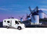 siesta alkoven - Hobby Caravan