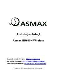 Instalacja_ASMAXBR615_v3.pdf 379 KB instrukcja ... - pomagam.net