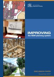 IMPROVING - Department of Planning - NSW Government