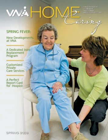 Spring 2009 - the Visiting Nurse Association of Northern New Jersey
