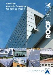 Roofinox Programm (PDF)