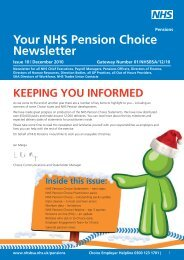 Choice Newsletter 10 - NHS Business Services Authority