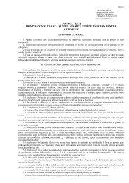instrucţiuni privind completarea şi prelucrarea foii de parcurs pentru ...