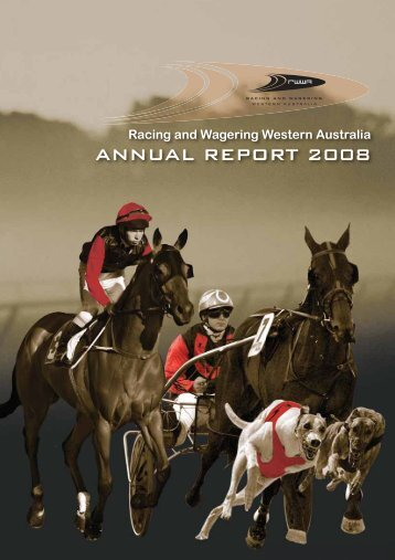 Racing and Wagering Western Australia Annual ... - RWWA Home