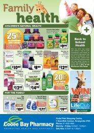 Family - Coral Coast Pharmacies