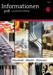 Haushalt - Markt - Konsum - Bundeszentrale für politische Bildung