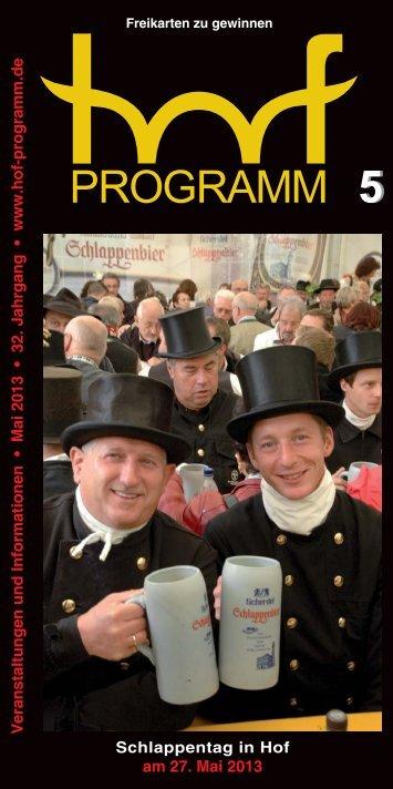 HP 05/2013 - Hof Programm